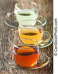 tea - Cup of fruit tea close up shoot