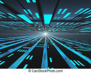 Dark Horizon  Internet Power Grid