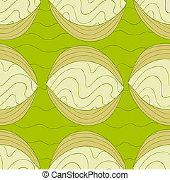 Fancy abstract seamless pattern - Fancy abstract vector...