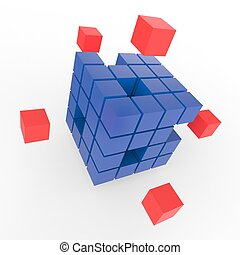 Incomplete Puzzle Showing Finishing Or Completion