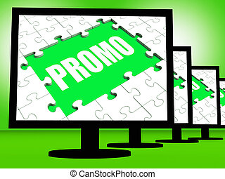 Promo Screen Shows Promotional Rebates Discounts And Rebate...