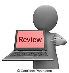 Review Laptop Means Check Evaluate Or Examine - Review...