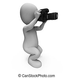Photos Character Shows Digital Dslr And Photography - Photos...