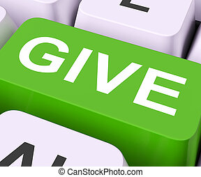 Give Key Means Bestow Or Giving - Give Key Meaning Bestowed...