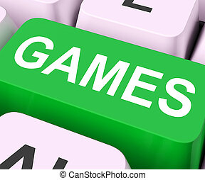 Games Key Shows Online Gaming Or Gambling - Games Key...