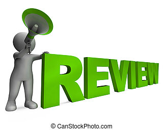 Review Character Showing Assessing Evaluating Evaluate And...