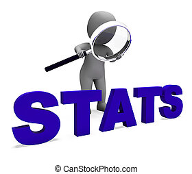 Stats Character Shows Statistics Reports Stat Or Analysis -...