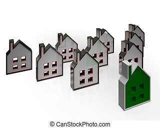 House Symbols Means Real Estate For Sale - House Symbols...