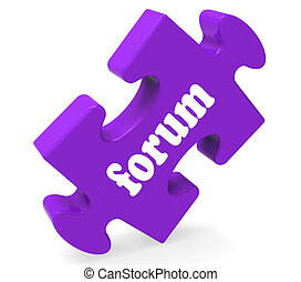 Forum Puzzle Showing Online Conversations Community...