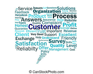 Customer Diagram Means Consumer Customers Or Buyer -...