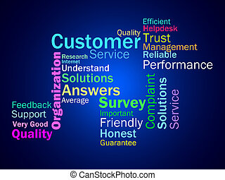 Customer Diagram Means Consumers Customers Or Buyers -...