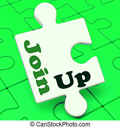 Join Up Puzzle Showing Subscribing Member Membership And Registration