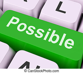 Possible Key Means Workable Or Achievable - Possible Key On...
