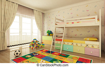 child room - colorfull child room design