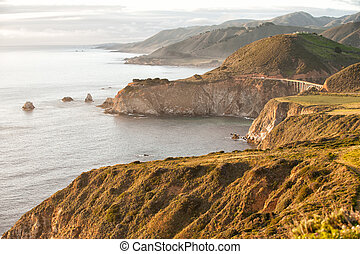 Big Sur and Bixby Bridge, California, USA