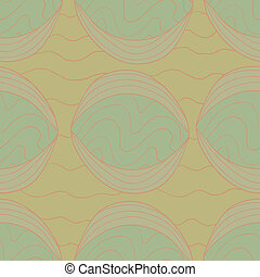 Abstract seamless pattern - Fancy abstract vector seamless...