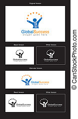 Global Success Logo Design