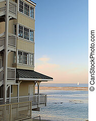 Monterey Building by the Sea - A relaxing beach view near a...