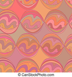 Stylized seamless - Fancy abstract stylized vector seamless...