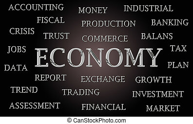 Economy word cloud