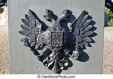 Coat of arms of the Russian Empire - Double Eagle - Emblem...