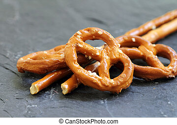 Sticks and Pretzels - Sticks and pretzels biscuits from the...