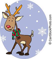 Rudolph - Cute reindeer