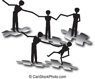 people teamwork to success - people teamwork to success in...