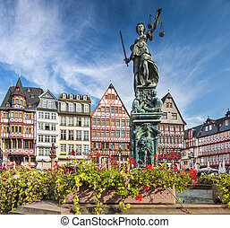 Frankfurt Germany Old City - The Old City of Frankfurt,...