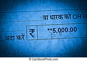 Bank Cheque