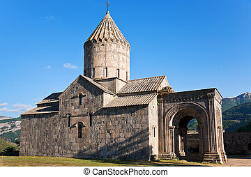 Tatev Monastery in Armenia - cathedral of st pogos and...