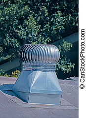 Air exhaust ventilation system