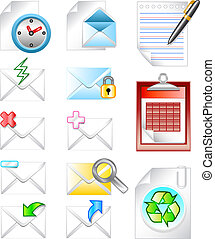 Web internet email icon