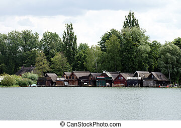 Boat house - The Photography of boathouses on Lake Schwerin....