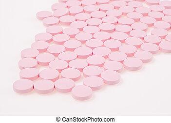 Pink Pills - Antacid pils for after food indigestion