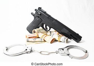 Financial Crime Concept