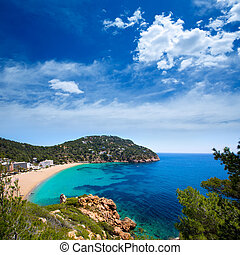 Ibiza caleta de Sant Vicent cala San vicente san Juan -...