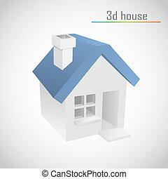 vector home - 3d vector home