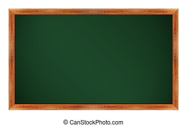 chalkboard - black Green chalk board . (with clipping work...
