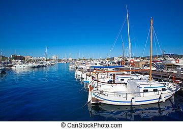 Ibiza san Antonio Abad de Portmany marina port