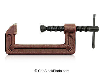 C clamp - horizontal hand vise c-clamp for industrial use....