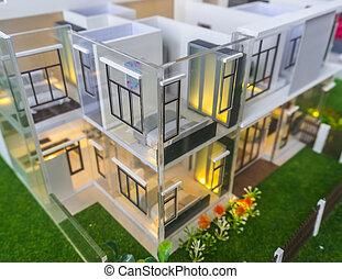 House model - house model