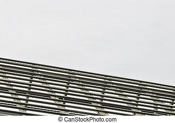 Roof truss metal