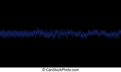 Abstract line wave background
