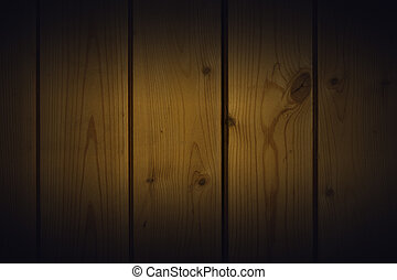 wooden wall texture with vignette
