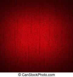 dark red background with vignette effect