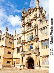 Old Bodleian Library - Bodleian Library Tower of the Five...