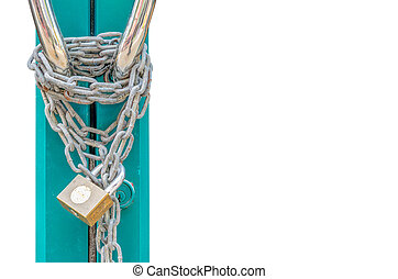 Door Lock with Chain
