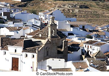 Town rooftops, Antequera, Spain - View over the town...