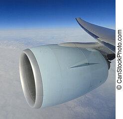 avia engine in flight